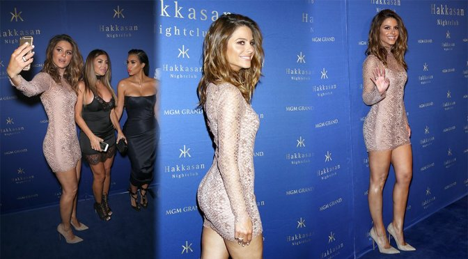 Maria Menounos at Hakkasan Las Vegas Nightclub in Las Vegas