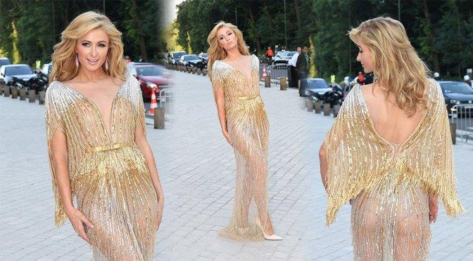 Paris Hilton – Louis Vuitton Art of Giving Love Ball Paris