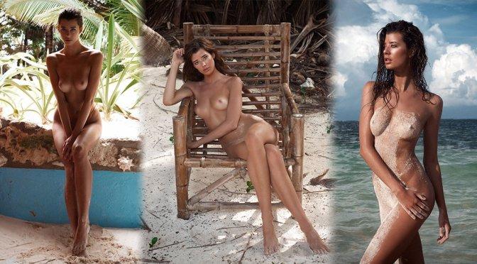 Sarah McDaniel – Treats Magazine Topless Photoshoot