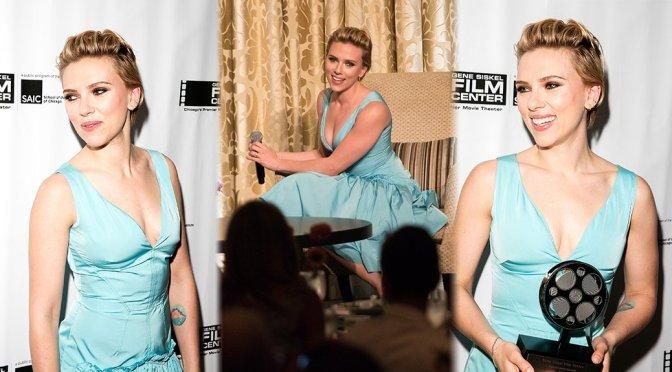Scarlett Johansson – Gene Siskel Film Center 2016 Renaissance Award