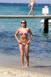 Sylvie Meis - Bikini Candids in St. Tropez