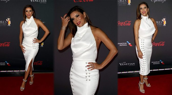 Eva Longoria – 8th Annual All White Affair in Las Vegas