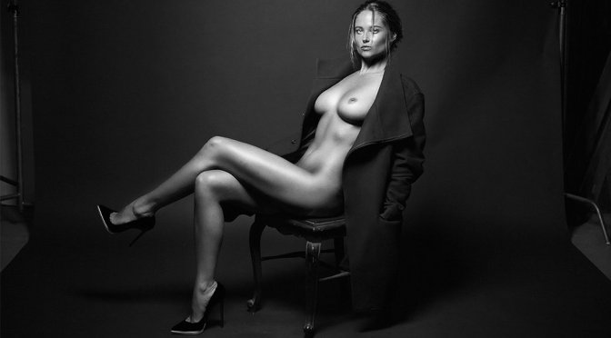 Genevieve Morton – Naked Photoshoot by Randall Slavin