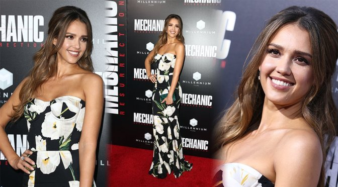 "Jessica Alba – ""Mechanic: Resurrection"" Premiere in Hollywood"