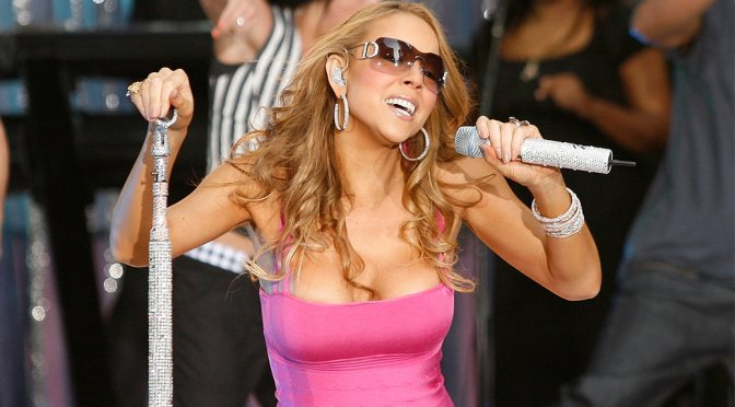 "Mariah Carey Performs Live at ""Good Morning America"""