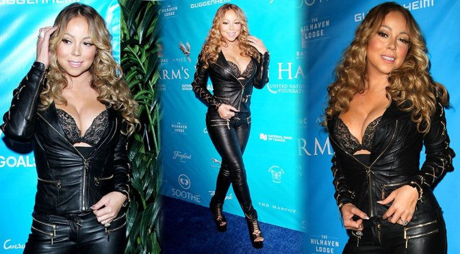 Mariah Carey – UN Gala in Los Angeles