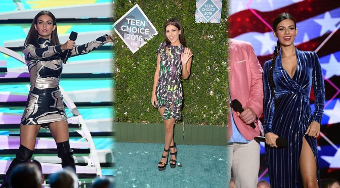 Victoria Justice – Teen Choice Awards 2016 in Inglewood