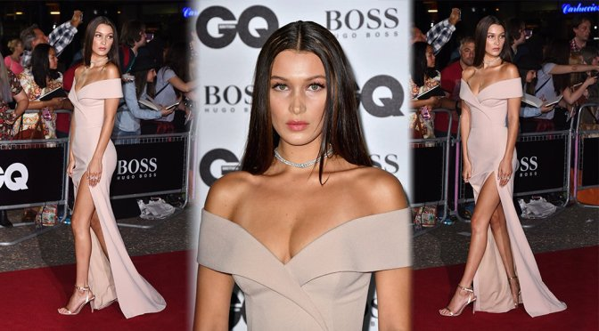 Bella Hadid – GQ Men Of The Year Awards 2016 in London