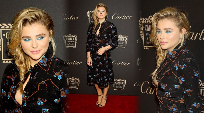 Chloe Grace Moretz – Cartier Fifth Avenue Mansion Reopening Party