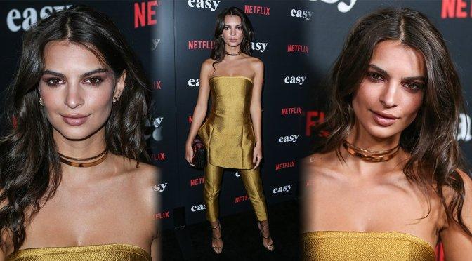 "Emily Ratajkowski – Netflix's ""Easy"" Premiere in West Hollywood"