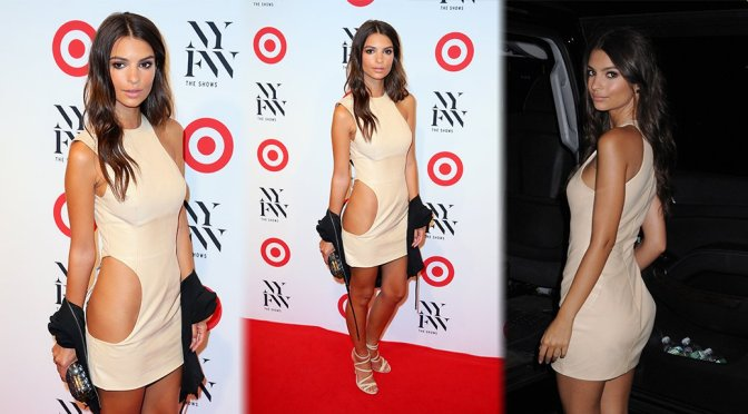 Emily Ratajkowski – IMG + Target Official NYFW Kick Off in New York