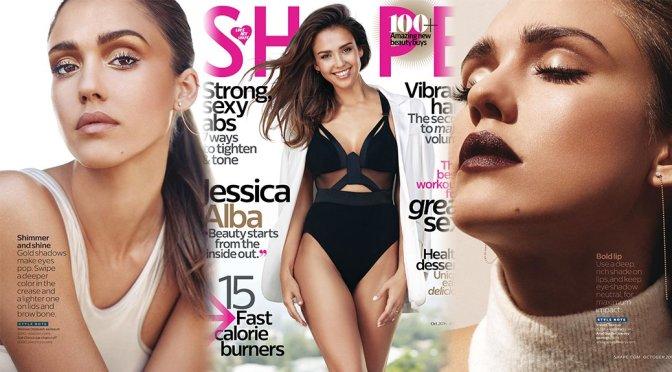 Jessica Alba – Shape Magazine (October 2016)
