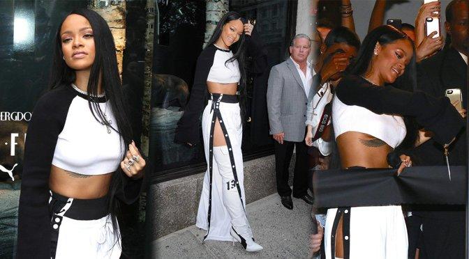 Rihanna – FENTY PUMA x RIHANNA Debut in New York