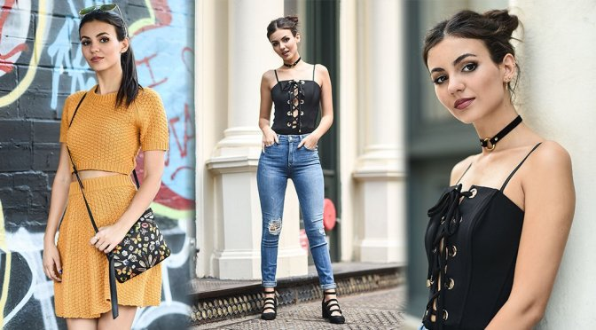 Victoria Justice – Photoshoot Candids in New York