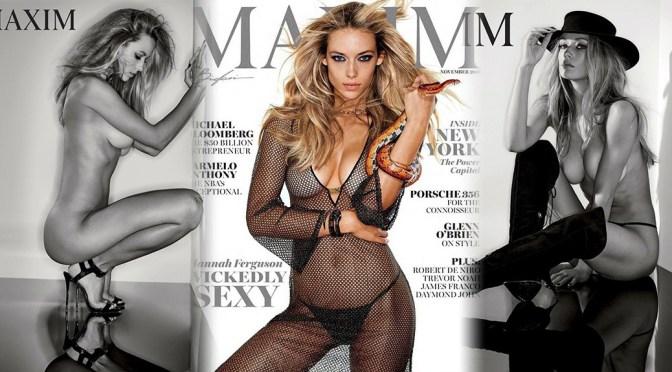 Hannah Ferguson – Maxim Magazine Photoshoot (November 2016)