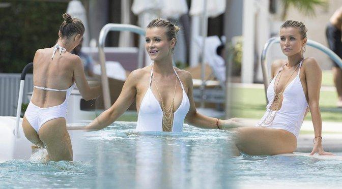 Joanna Krupa – Swimsuit Candids in Miami