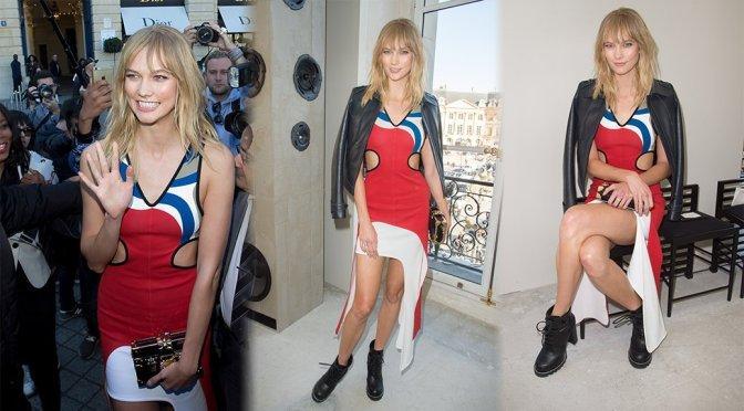 """Karlie Kloss – """"Louis Vuitton"""" Fashion Show in Paris"""