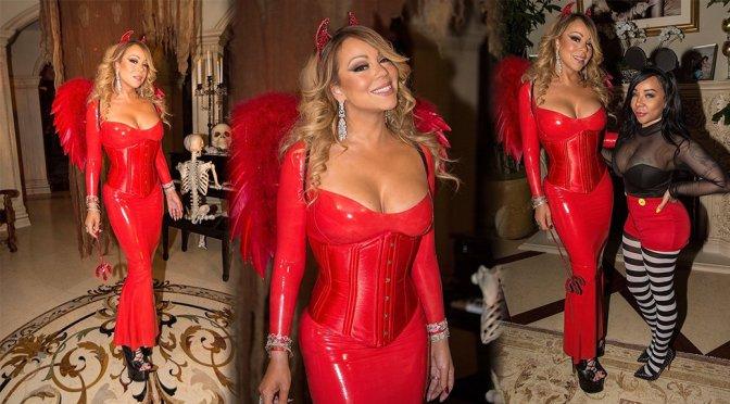 Mariah Carey at Halloween Party