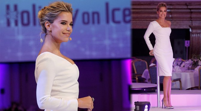 Sylvie Meis – Holiday on ICE Gala in Hamburg