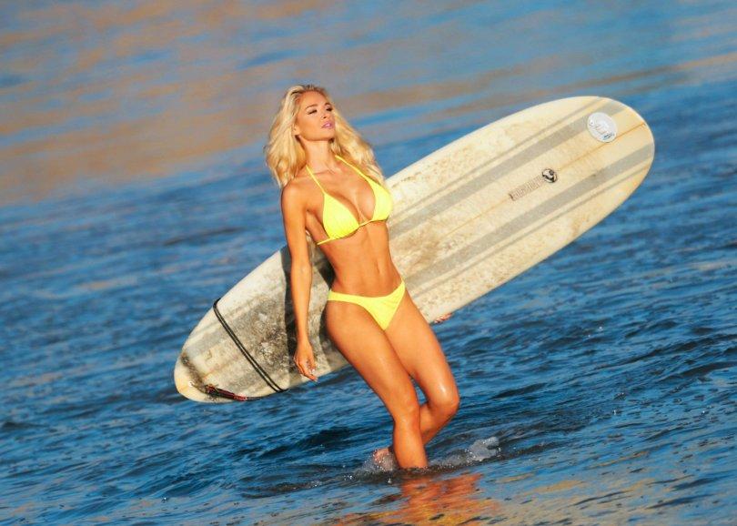 "Anna Katharina - ""138 Water"" Bikini Photoshoot in Malibu"
