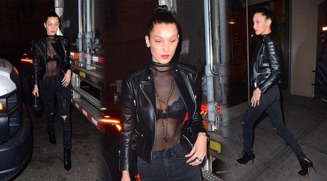 Bella Hadid – Candids in New York