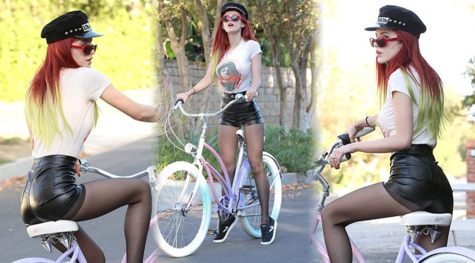 Bella Thorne - Candids in Los Angeles