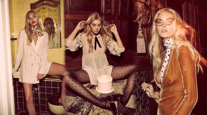 "Elsa Hosk – ""Love & Lemons"" 2016 Holiday Campaign Photoshoot"