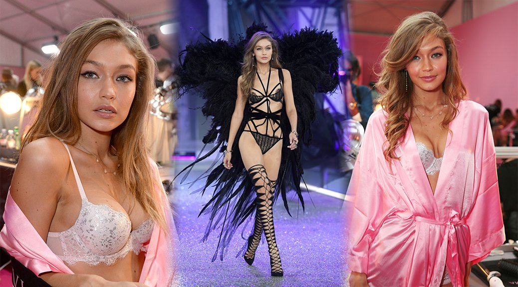 Gigi Hadid - 2016 Victoria's Secret Fashion Show in Paris