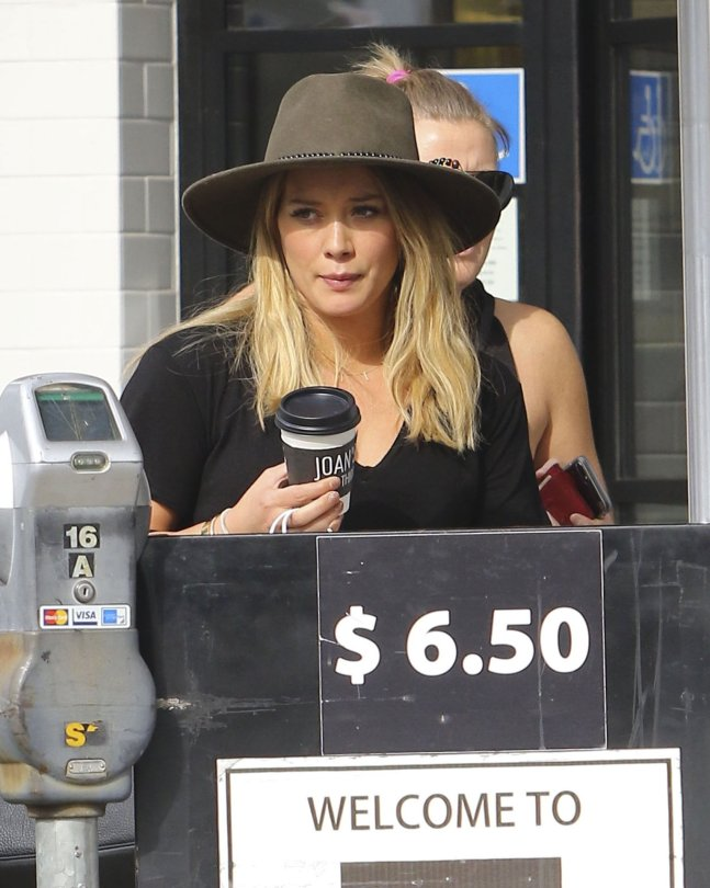 Hilary Duff - Candids in West Hollywood