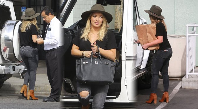 Hilary Duff – Candids in West Hollywood