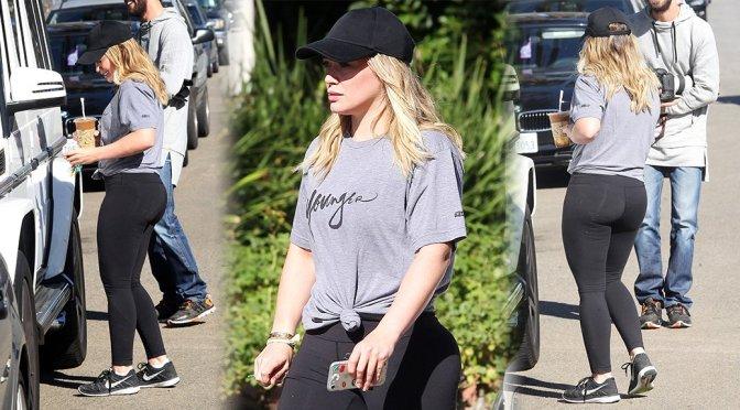 Hilary Duff – Candids in Beverly Hills