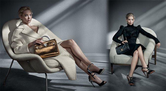 Jennifer Lawrence - Dior Handbags Fall/Winter 2016 Campaign