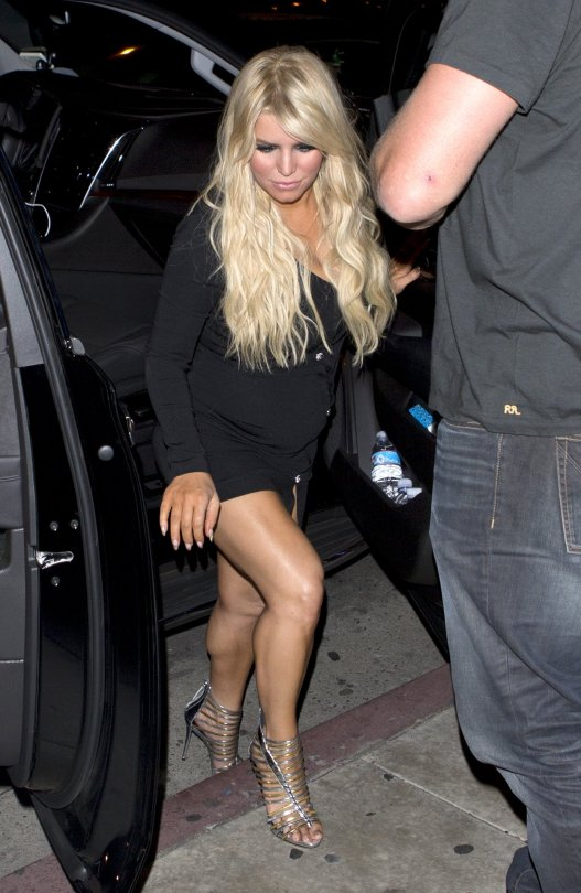Jessica Simpson - Candids in West Hollywood