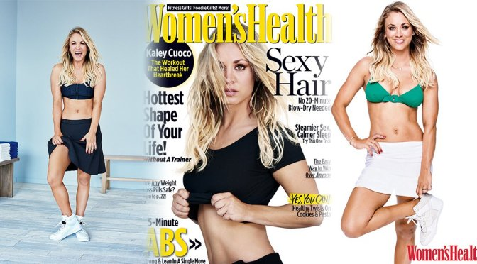 Kaley Cuoco – Women's Health Magazine (December 2016)