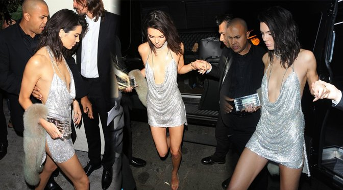 Kendall Jenner – 21st Birthday Party at Delilah Club in West Hollywood