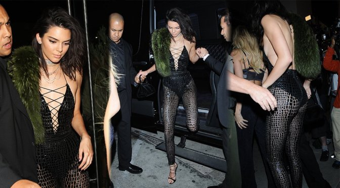 Kendall Jenner - 21st Birthday Party at Catch in Los Angeles
