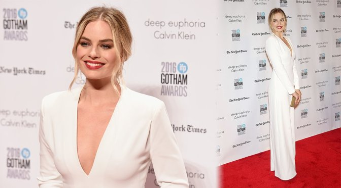 Margot Robbie – 2016 IFP Gotham Independent Film Awards