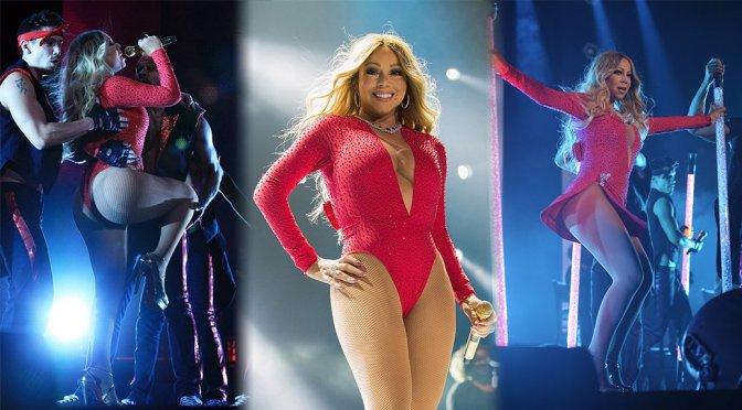 "Mariah Carey - ""Sweet Sweet Fantasy"" Tour in Mexico City"