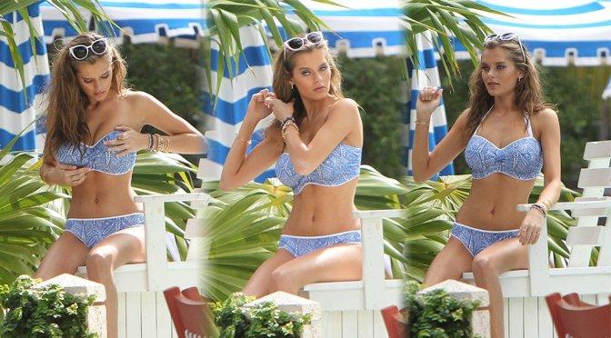 Solveig Mork Hansen – Bikini Photoshoot Candids in Miami Beach