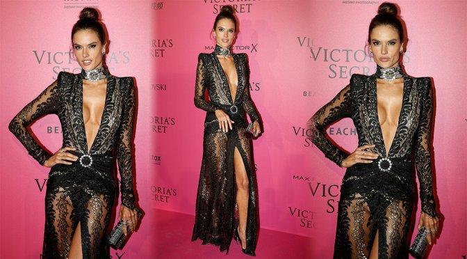 Alessandra Ambrosio - Victoria's Secret Fashion Show After Party in Paris