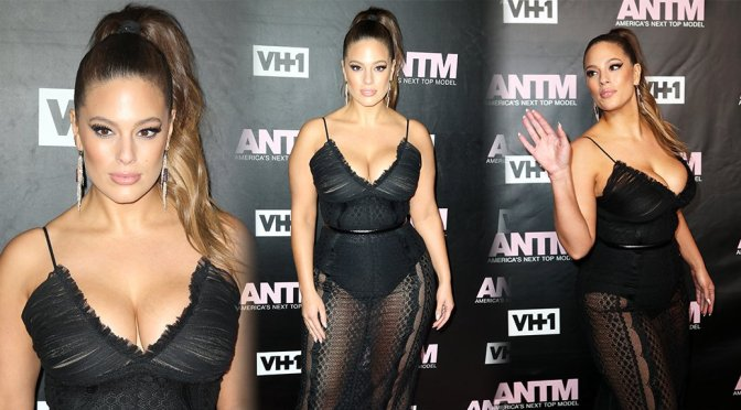 "Ashley Graham - ""America's Next Top Model"" Premiere Party"