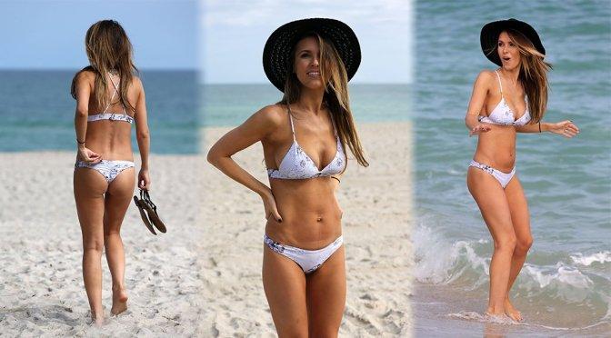 Audrina Patridge – Bikini Candids in Miami