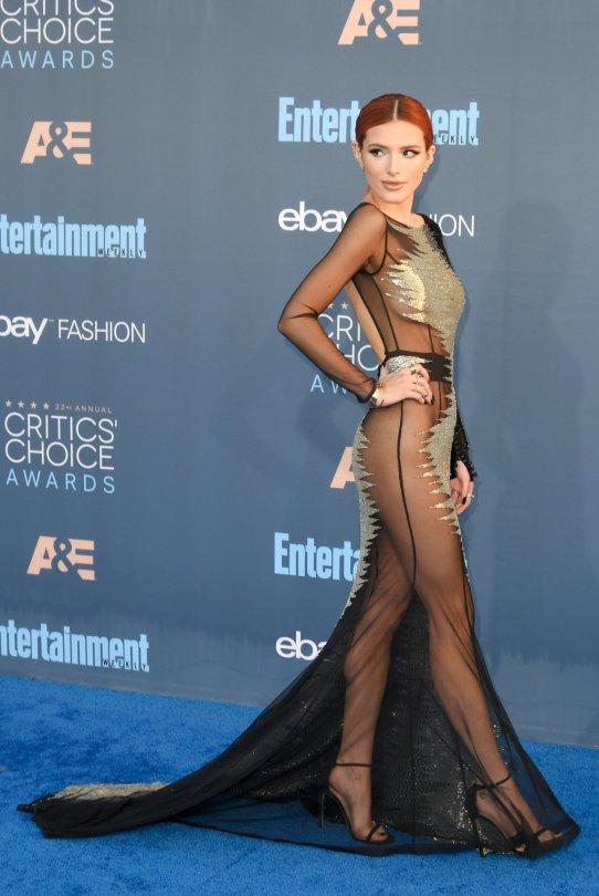 Bella Thorne - 22nd Annual Critics' Choice Awards in Santa Monica