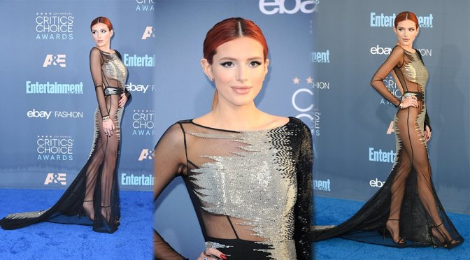 Bella Thorne – 22nd Annual Critics' Choice Awards in Santa Monica