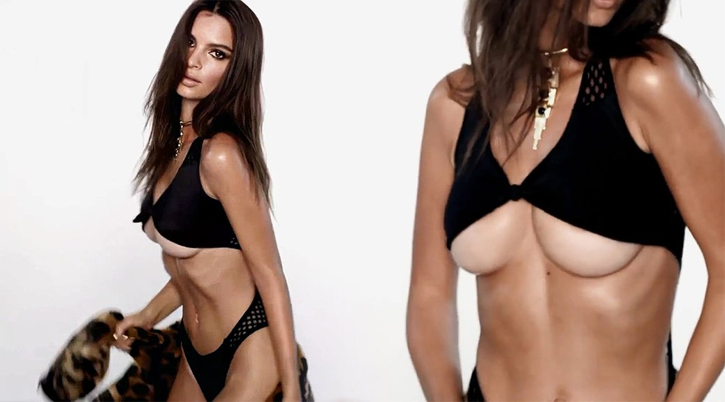 Emily Ratajkowski - LOVE Advent 2016