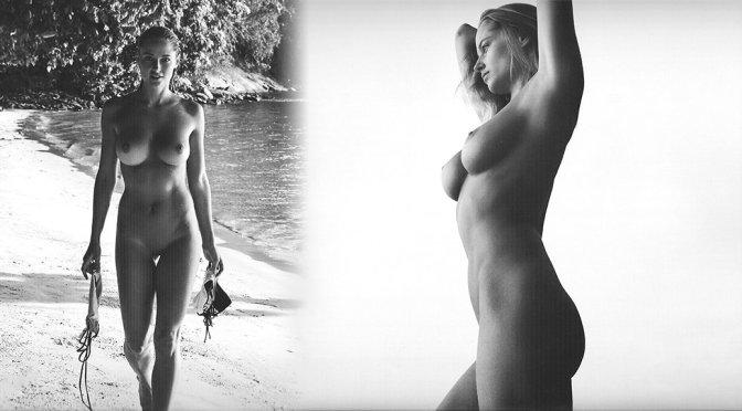 Genevieve Morton – 2017 Calendar Naked Photoshoot (Uncensored)