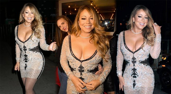 "Mariah Carey – ""Mariah's World"" Viewing Party in New York"