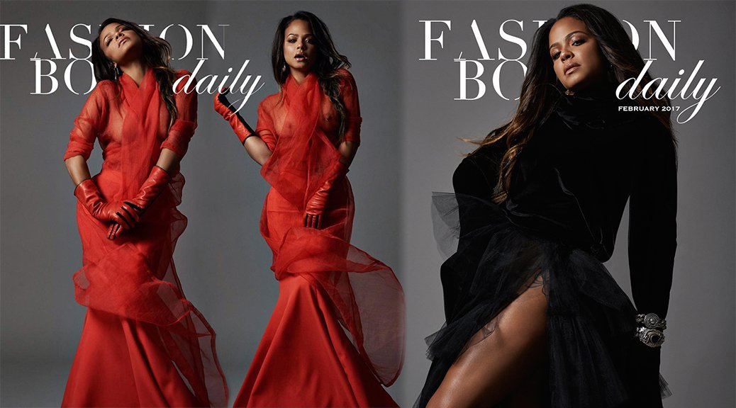 "Christina Milian - ""Fashion Bomb Daily"" Magazine Photoshoot (February 2017)"