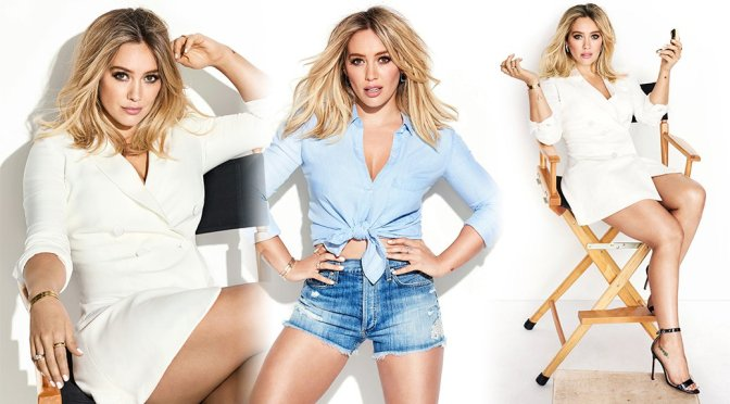 Hilary Duff – Cosmopolitan Magazine Photoshoot (February 2017)