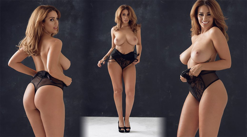 Holly Peers - Page 3 Topless Photoshoot
